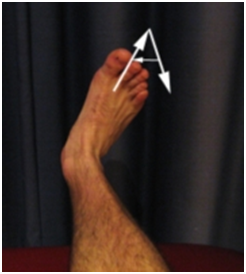 ALPHABET WRITING WITH ANKLE