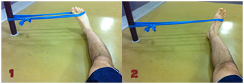 ANKLE EVERSION &INVERSION WITH RESISTANCE BAND