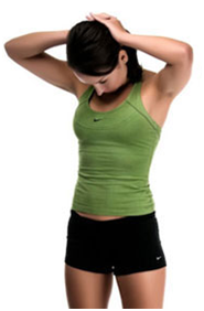 Clasping Neck Stretch