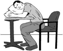 How to relax in a sitting position