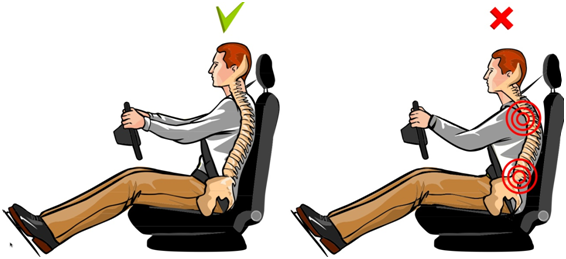 Posture while Driving