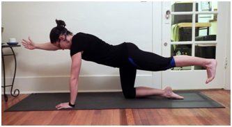 Quadruped Opposite Arm-Leg Lifts