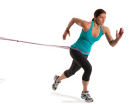Resistance Band Jump