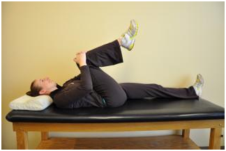 Single Knee to Chest Stretch