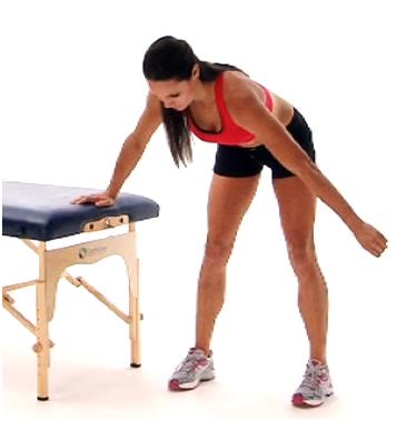 Standing Pendulum exercise